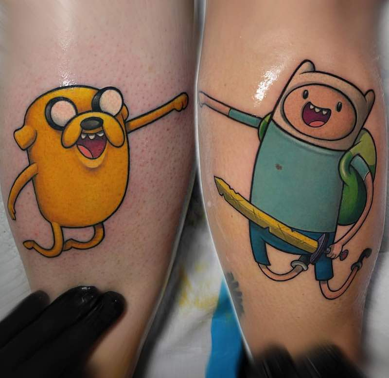 Adventure Time Tattoo 3 by Thom Bulman