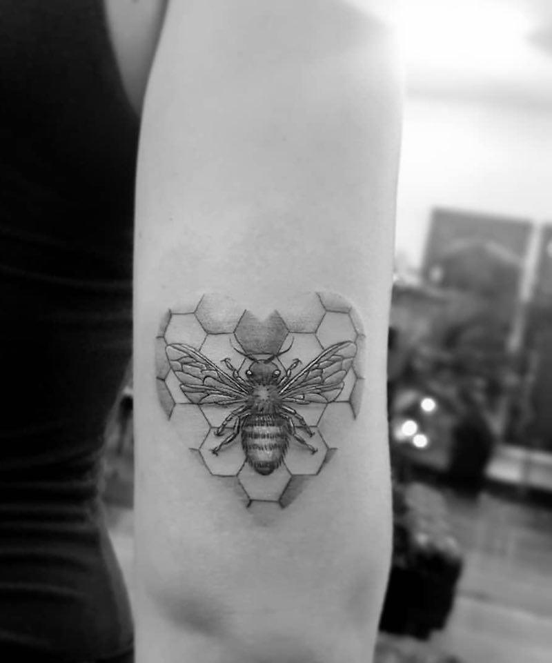 Bee Tattoo 2 by Alexandyr Valentine