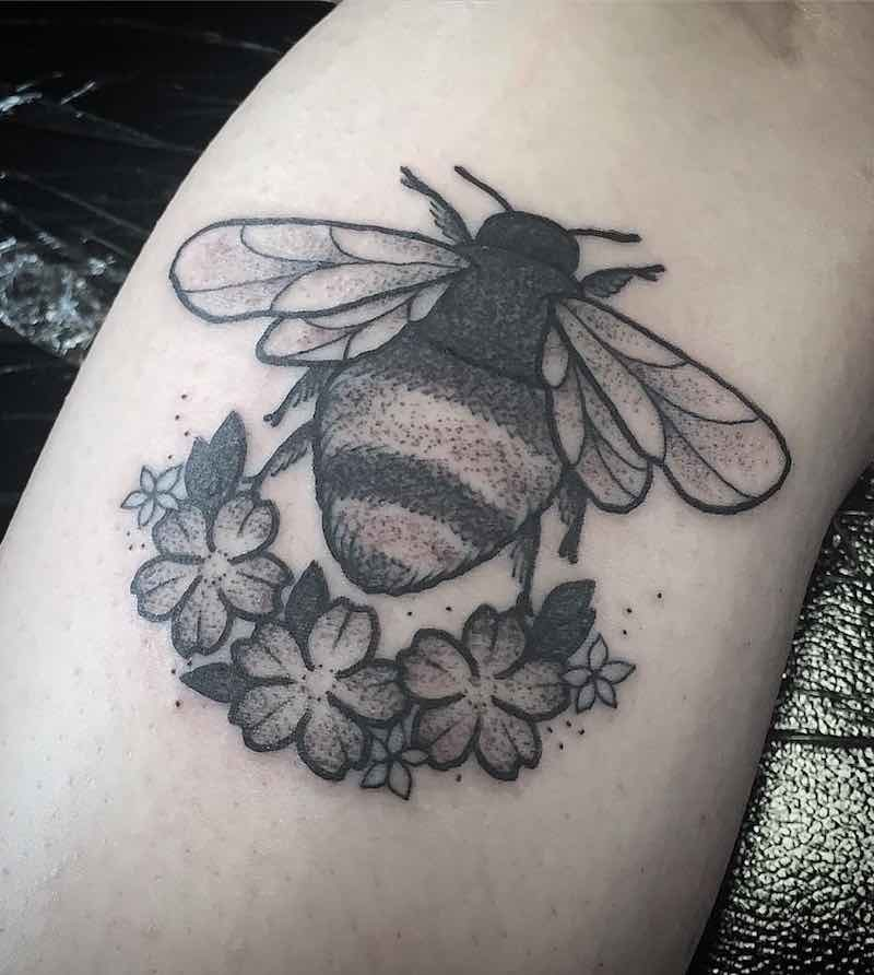 Bee Tattoo 2 by Raine Knight