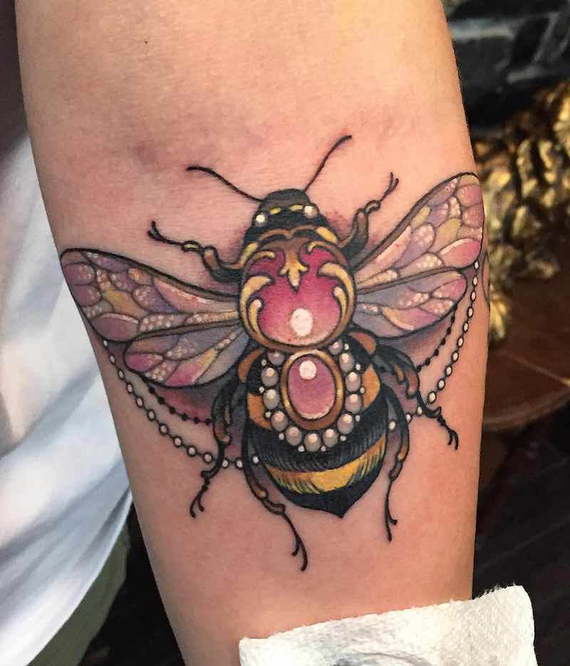 Bee Tattoo 3 by Arielle Gagnon