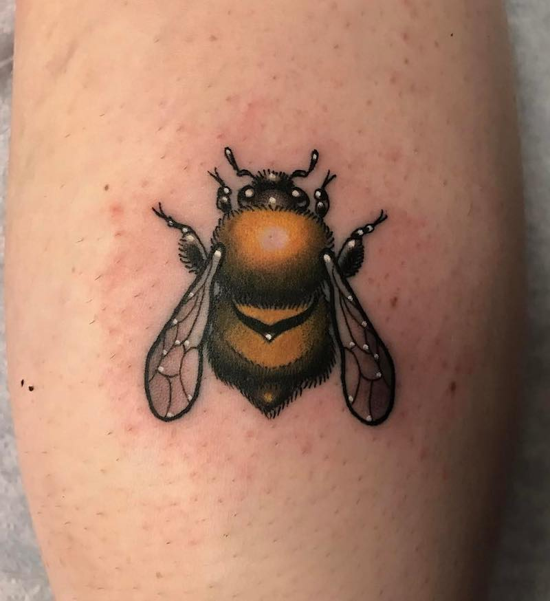 Bee Tattoo 3 by Patrick Whiting