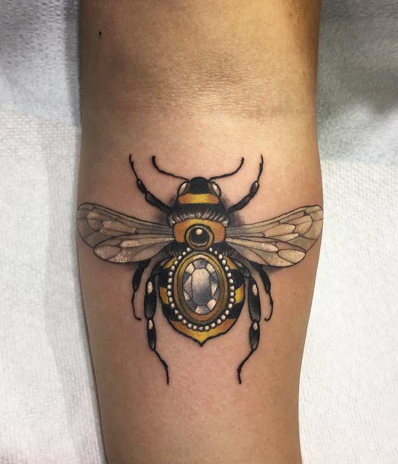Bee Tattoo 4 by Arielle Gagnon
