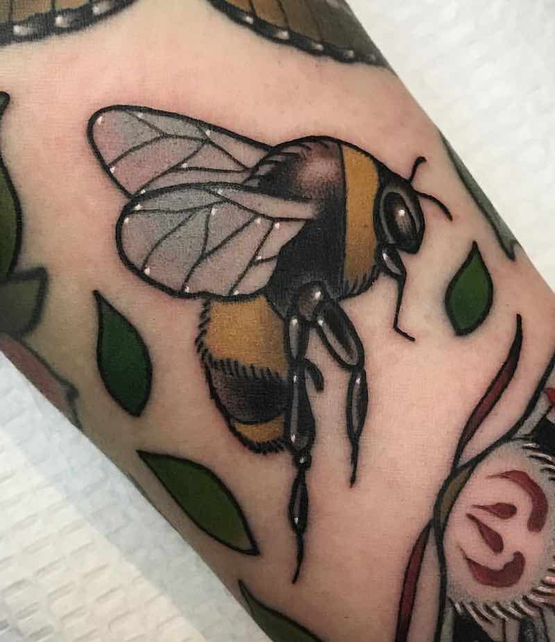 Bee Tattoo 5 by Patrick Whiting