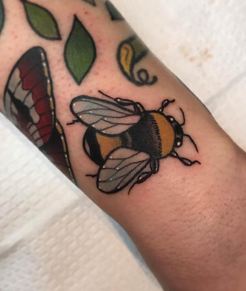 Bee Tattoo 6 by Patrick Whiting