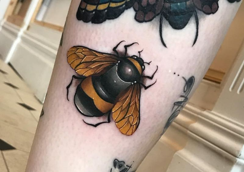 The Best Bee Tattoos