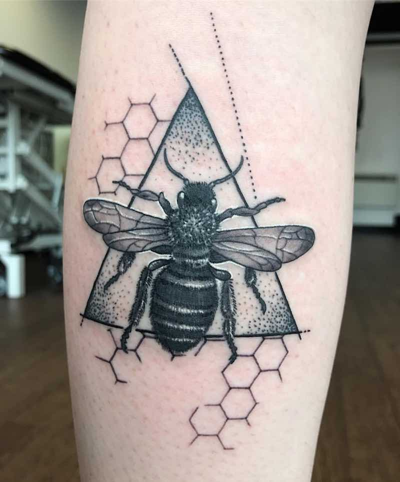 Bee Tattoo by Brent Goudie