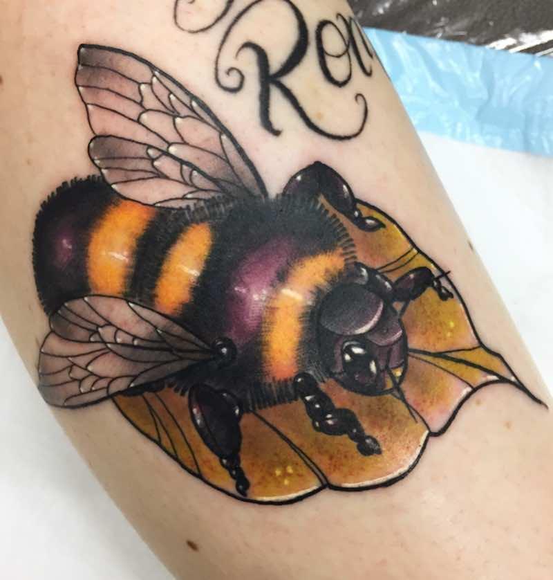 Bee Tattoo by Stefan Salamone