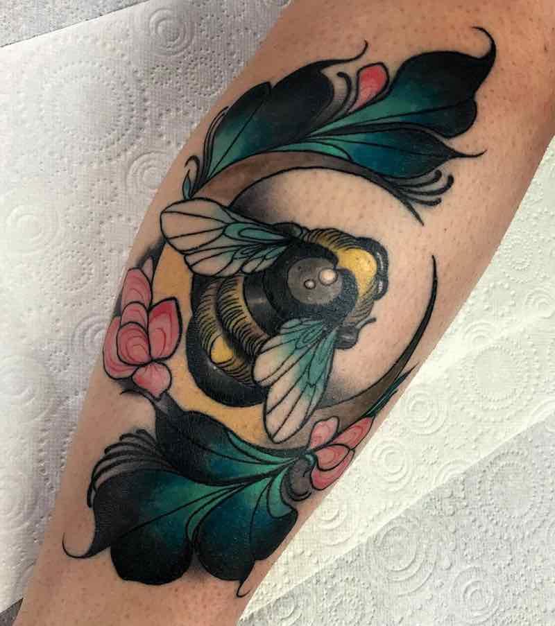 Bee Tattoo by Summer Heath