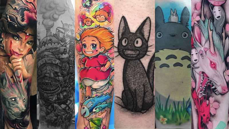 Studio Ghibli Tattoos: The Ultimate Selection