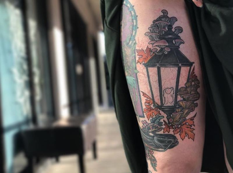Lantern Tattoo 2 by Chelsea Owen