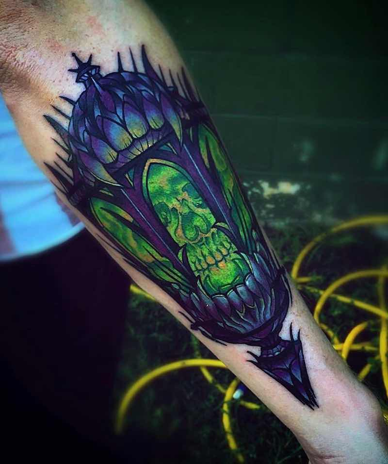 Lantern Tattoo 3 by Jeremy Sloo