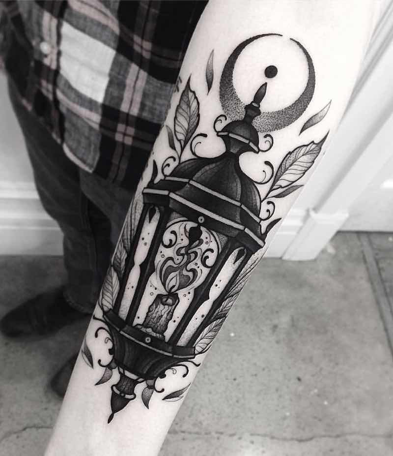 Lantern Tattoo by Franki Tattoo