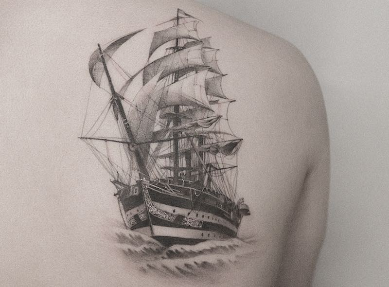 Best Ship Tattoos Zeal Tattoo