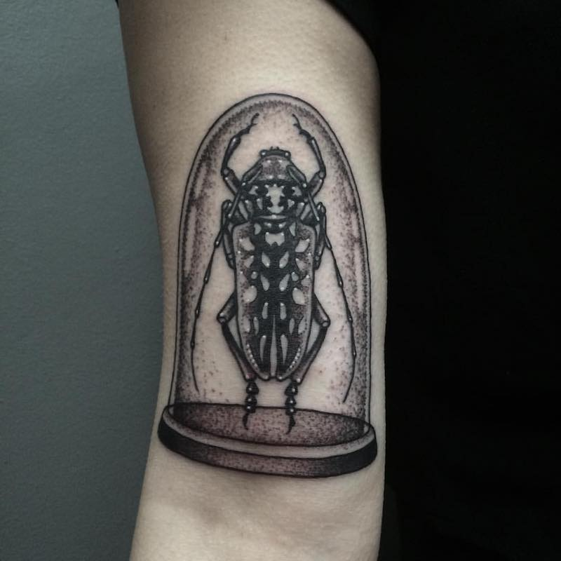 Beetle Tattoo 3 by Patrick Whiting