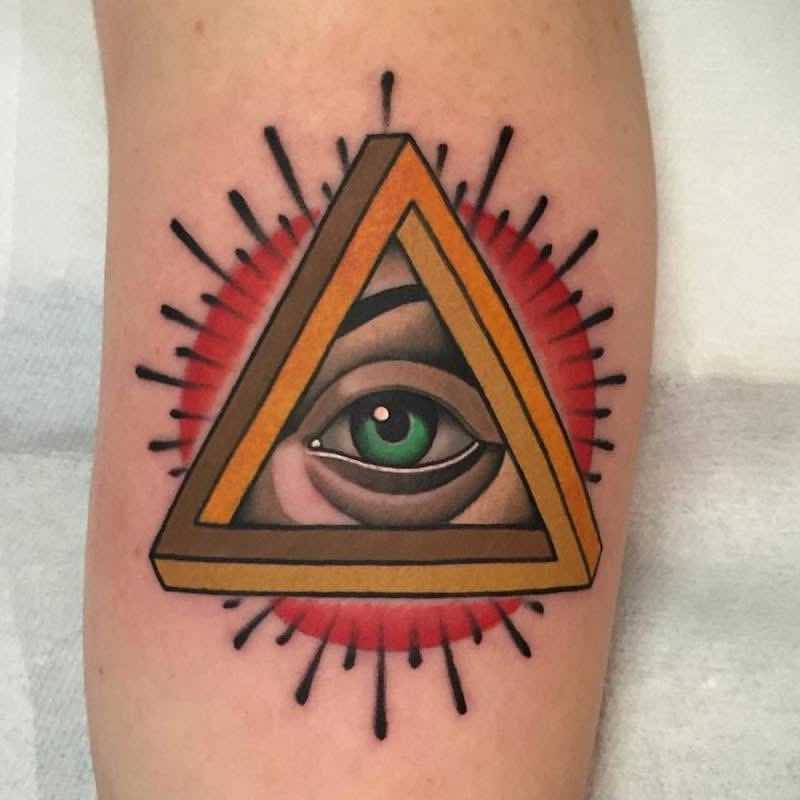 Eye Tattoo 2 by Fulvio Vaccarone
