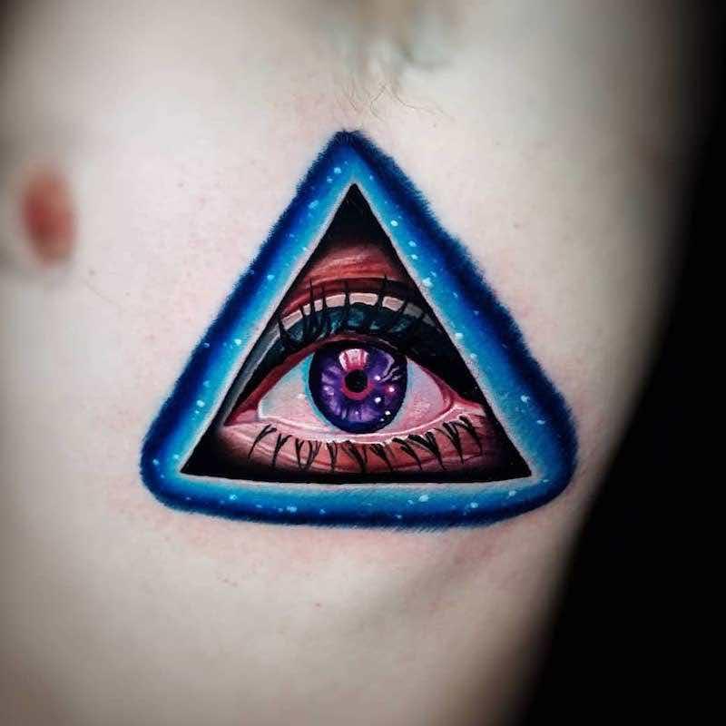 Eye Tattoo 2 by Tyler Malek