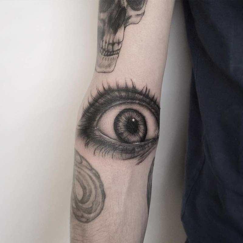 Eye Tattoo by Ale Blackcat