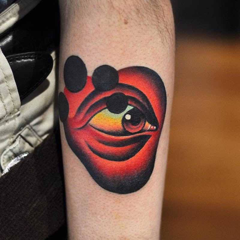 Eye Tattoo by David Peyote