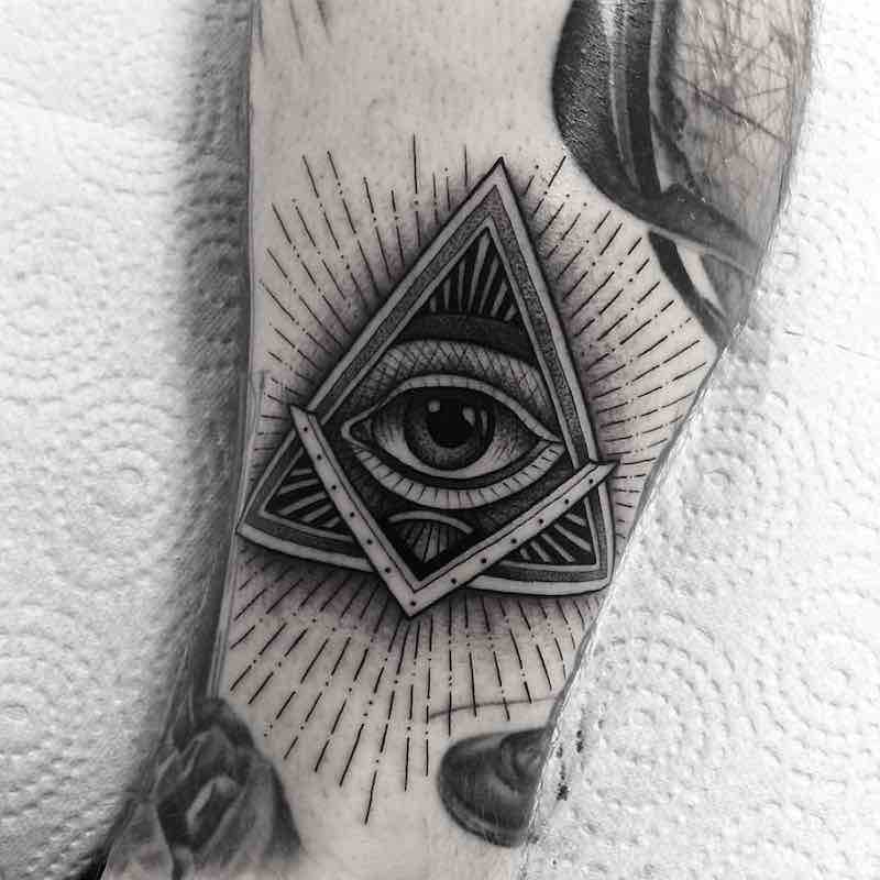 Eye Tattoo by Franki Tattoo