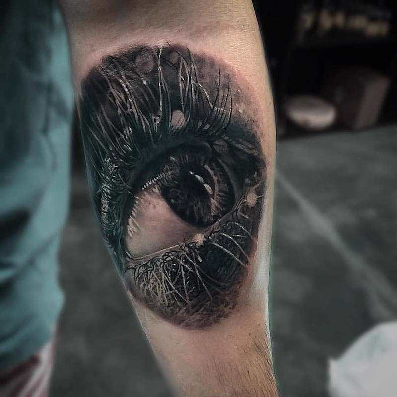 Eye Tattoo by Owen Paulls