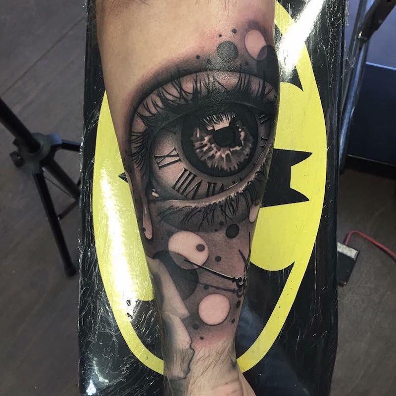 Eye Tattoo by Rich Knight 2
