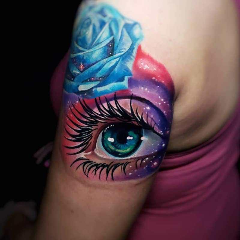 Eye Tattoo by Tyler Malek