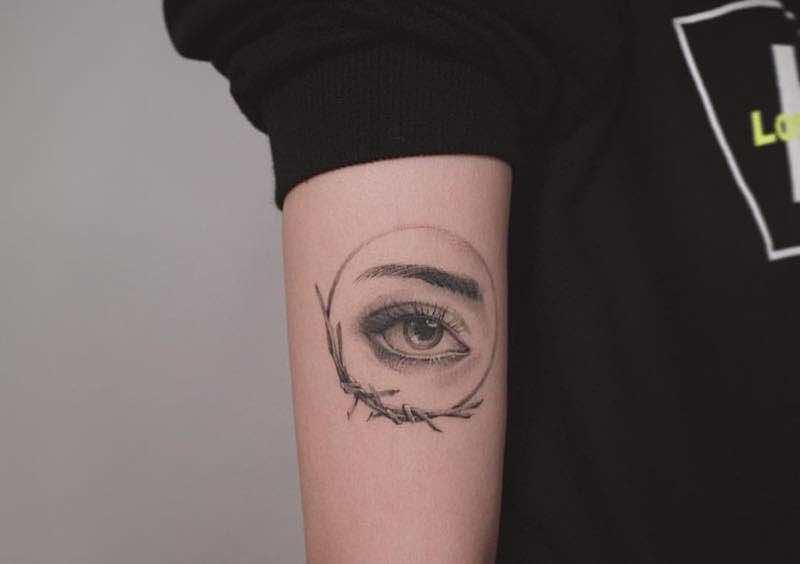 Eye Tattoo by Zeal Tattoo