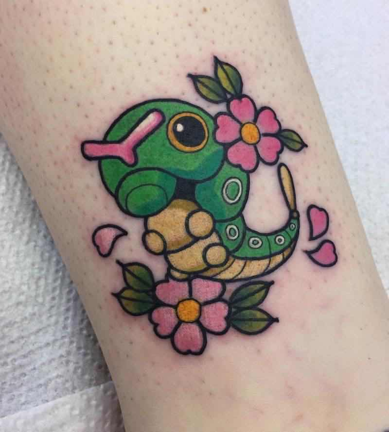 Pokemon Tattoo 2 by Ashley Luka