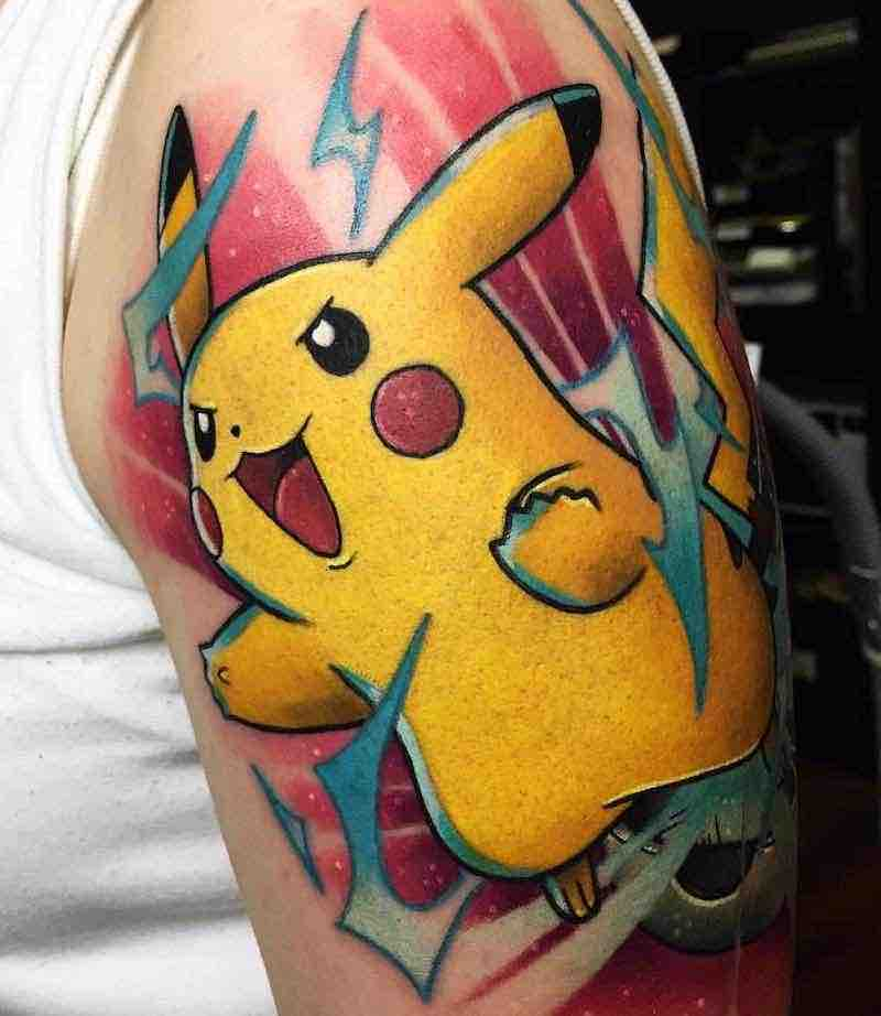 Pokemon Tattoo 8 by Stefan Salamone