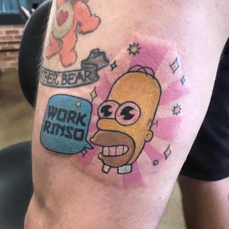Simpsons Tattoo 2 by Jessekarh