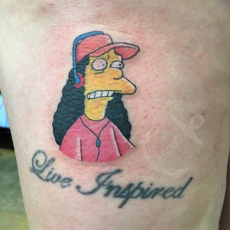 Simpsons Tattoo 7 by Jessekarh