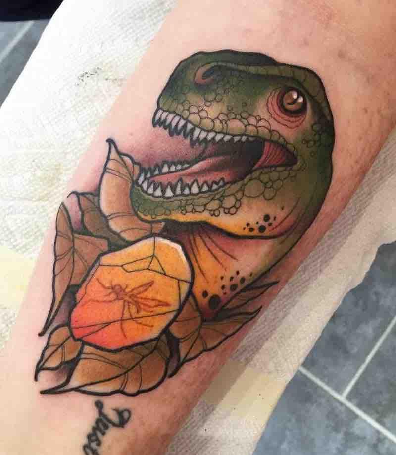 Dinosaur Tattoo 2 by Heath Clifford