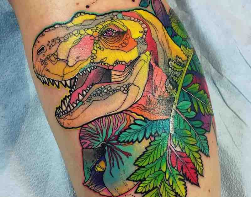 Dinosaur Tattoo Katie Shocrylas