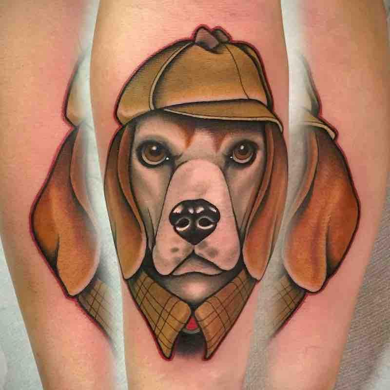 Dog Tattoo 2 by Fulvio Vaccarone