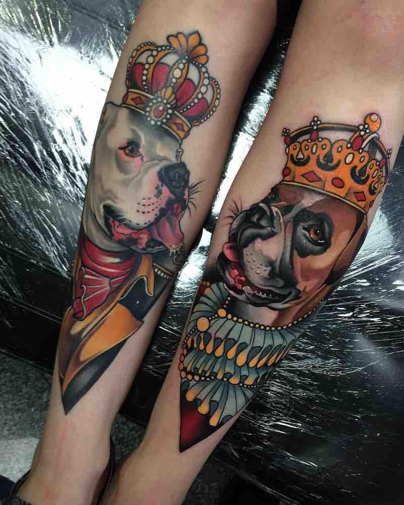 Dog Tattoo 2 by Johnny Domus