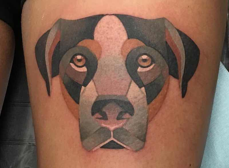 Dog Tattoo Tara Timoon