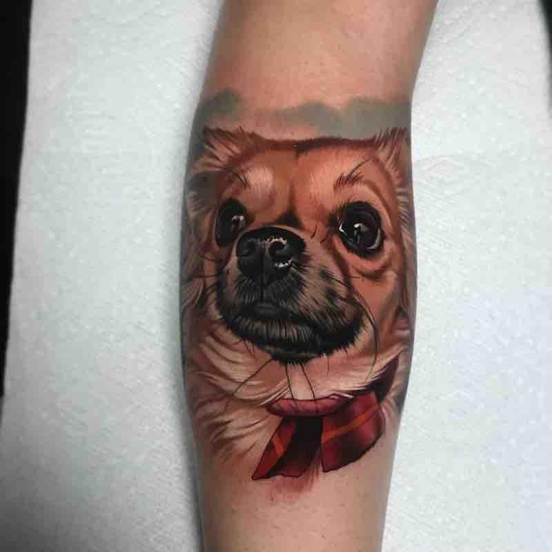 Dog Tattoo by Paul Marino
