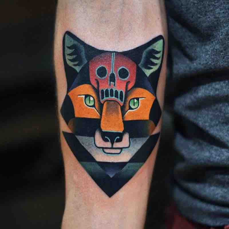 Fox Tattoo 2 by David Peyote