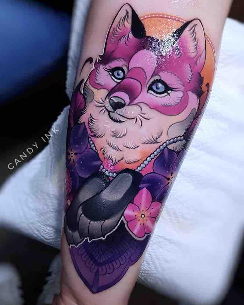 Fox Tattoo 2 by Laura Konieczna