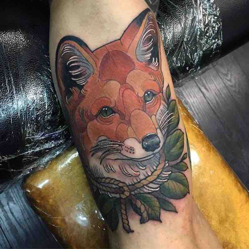 Fox Tattoo 3 by Arielle Gagnon