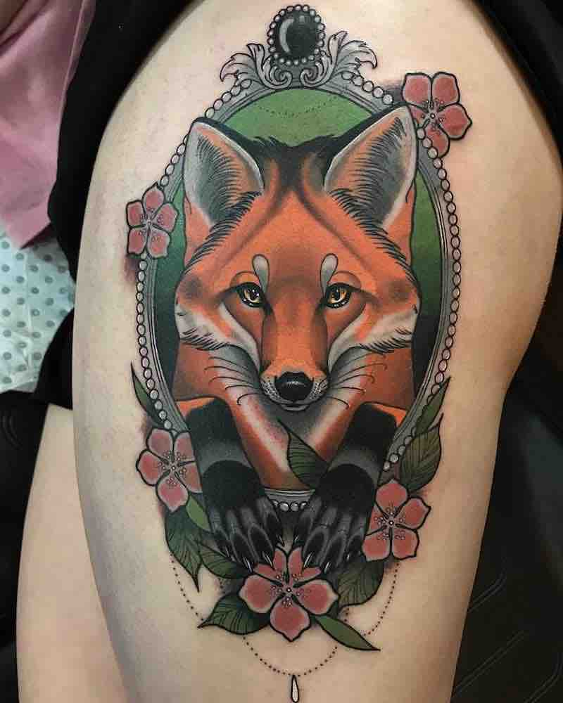 Fox Tattoo 3 by Drew Shallis