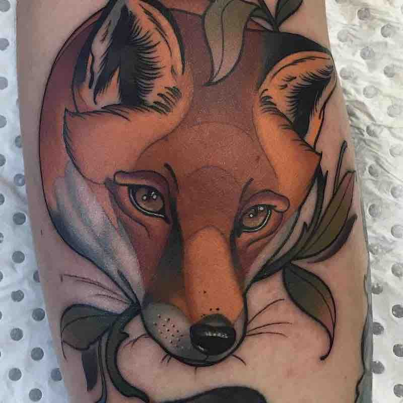 Fox Tattoo 4 by Drew Shallis