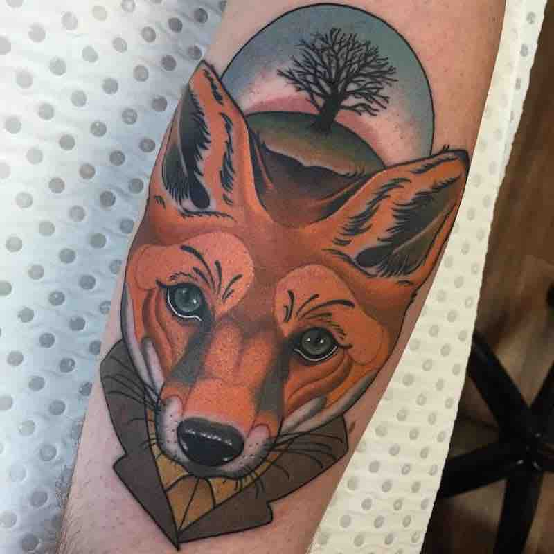 Fox Tattoo 5 by Drew Shallis