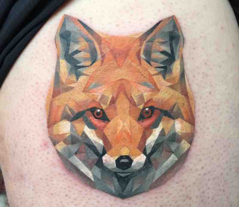 Fox Tattoo Michelle Maddison