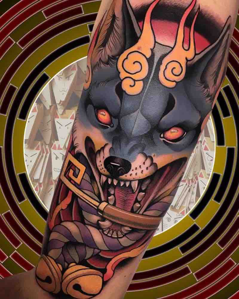 Fox Tattoo by Alan Ferioli