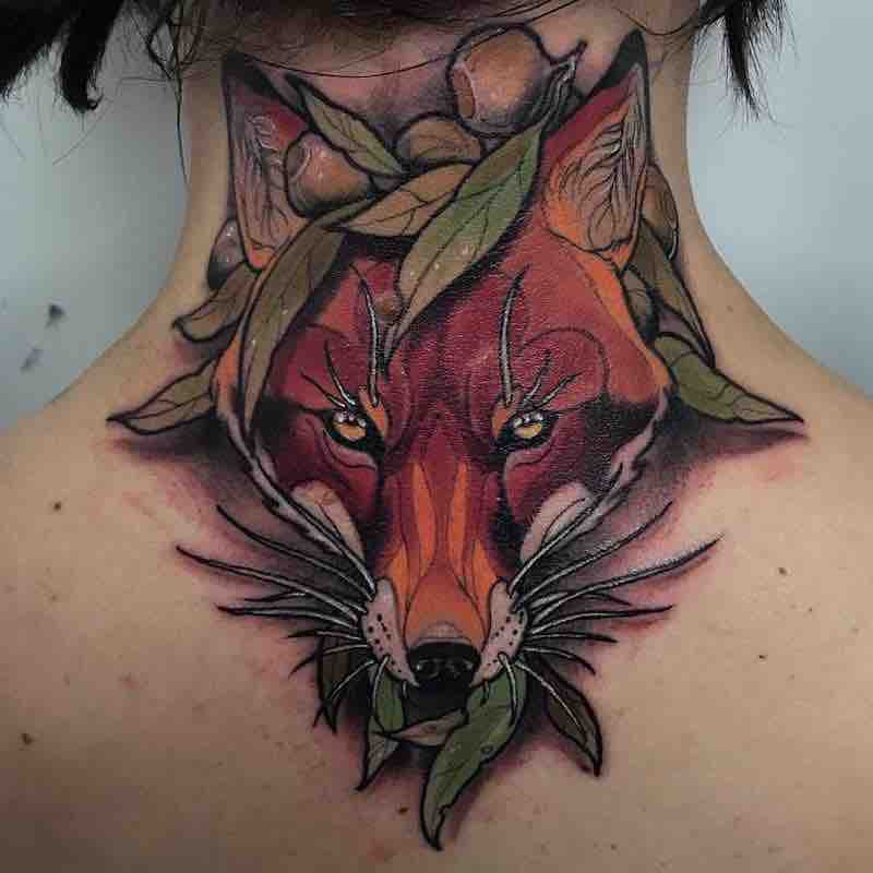 Fox Tattoo by Dean Kalcoff