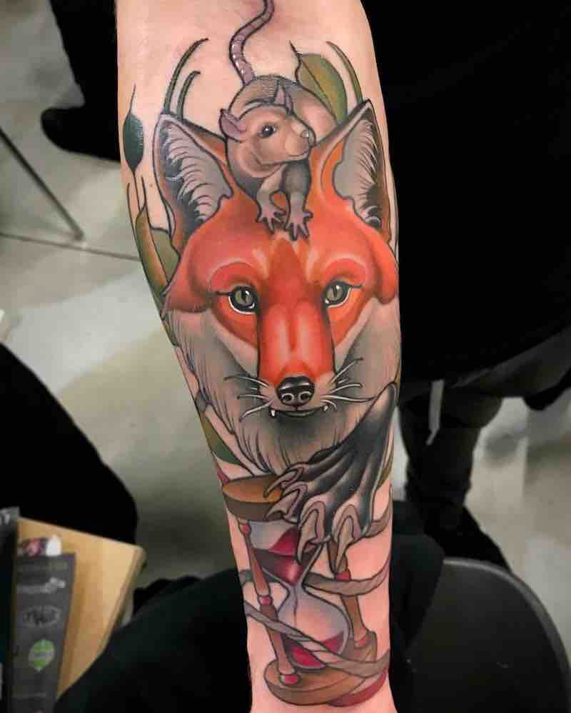 Fox Tattoo by Fulvio Vaccarone