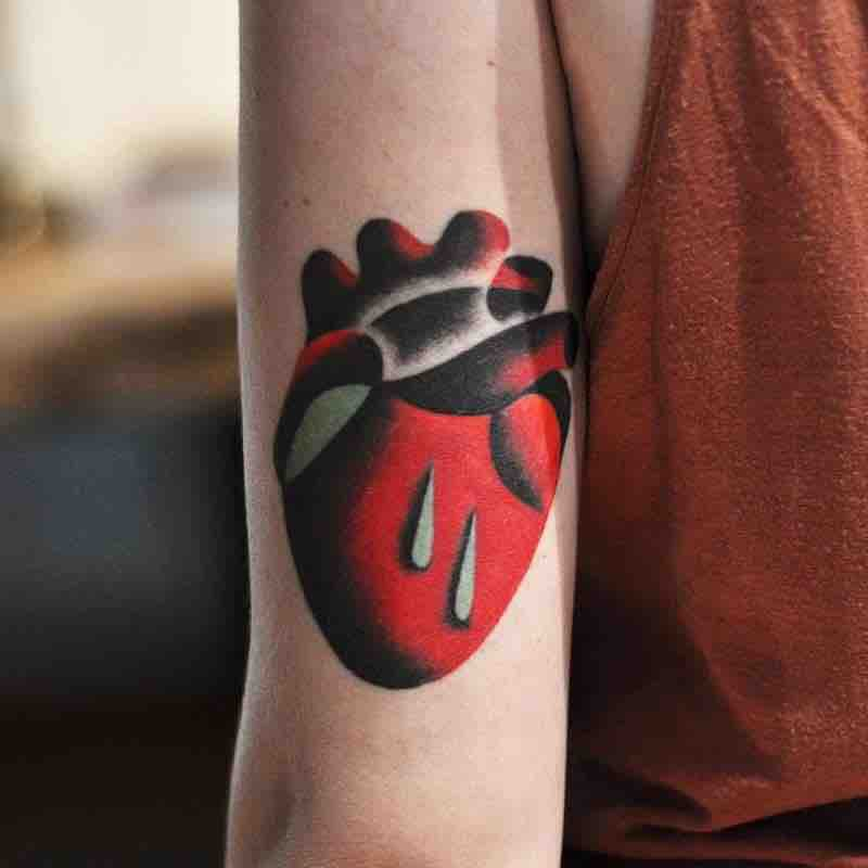 Heart Tattoo 2 by David Peyote