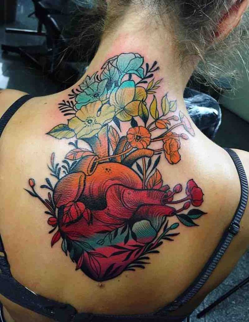 Heart Tattoo 2 by Johnny Domus