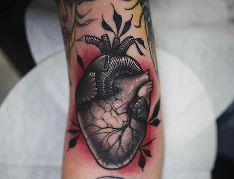 Heart Tattoo Jason James Smith
